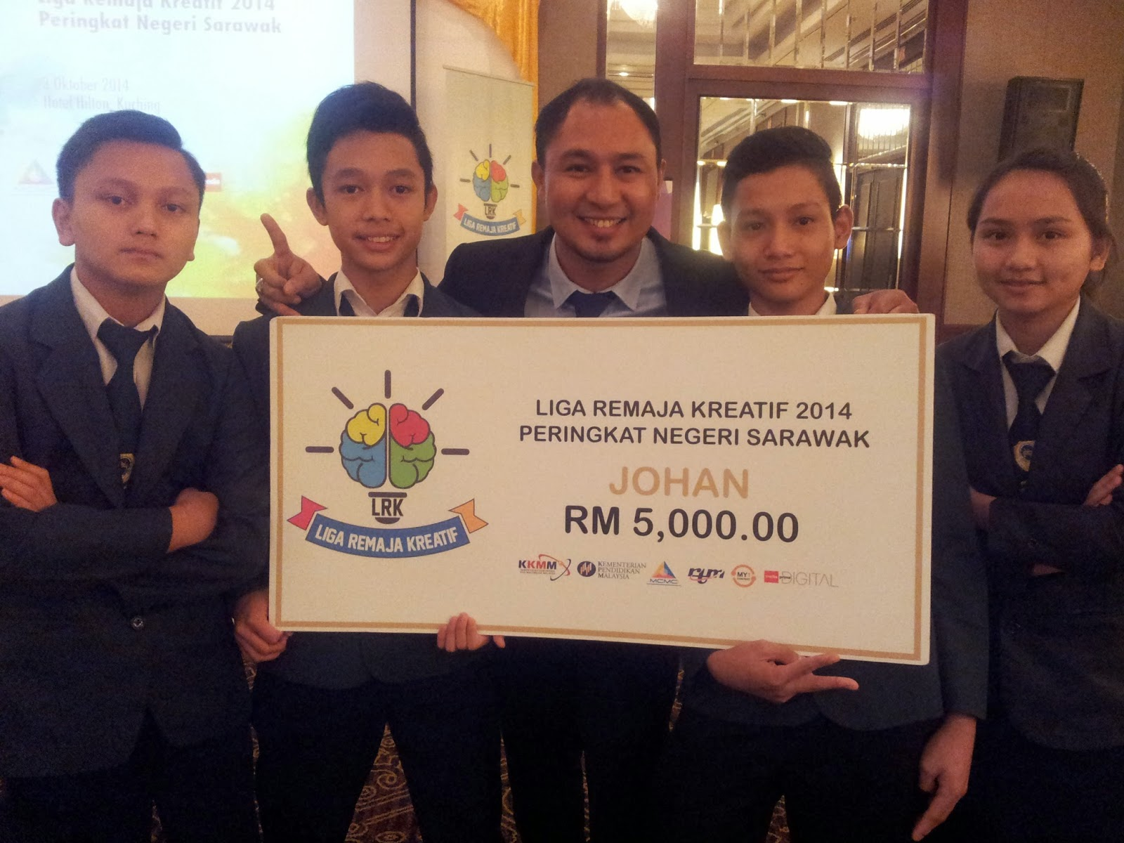 Johan Liga Remaja Kreatif 2014 (Zon Sarawak)