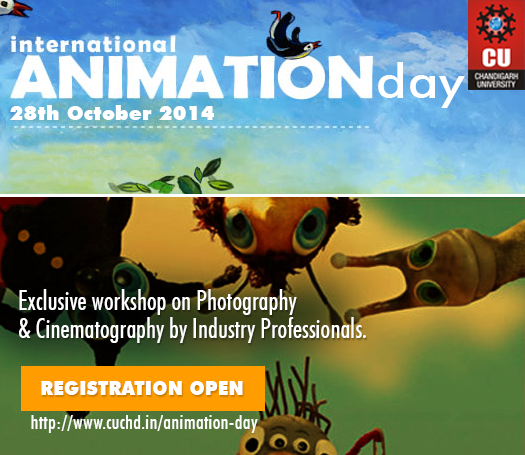 International Animation Day - Chandigarh University