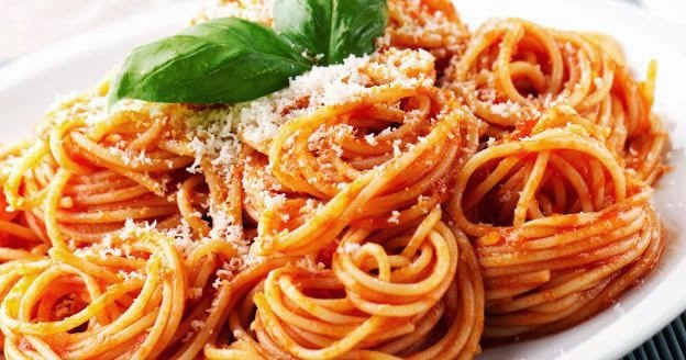 Spaghetti à la sauce