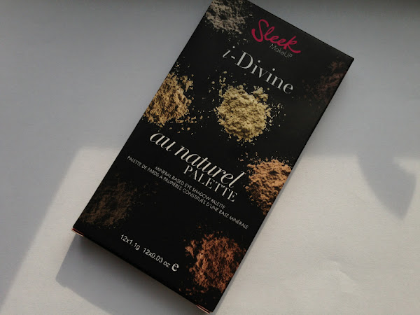 Sleek i-Divine Au Naturel Palette.