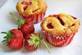 Resep Kue Muffin Strawberry Mini dan Sederhana