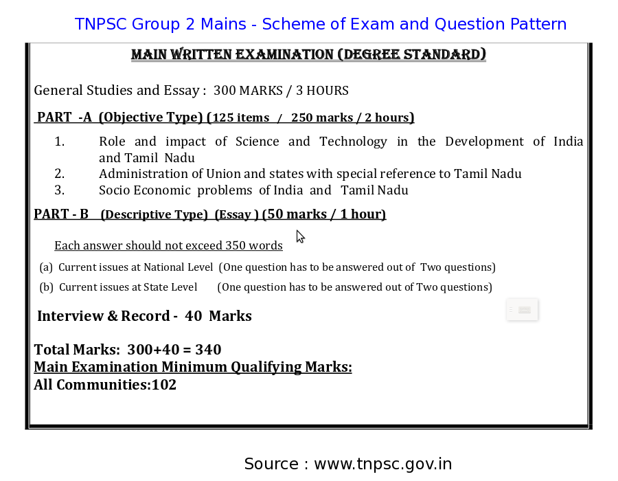 Reflections on TSC written test   Nelta Choutari NESM