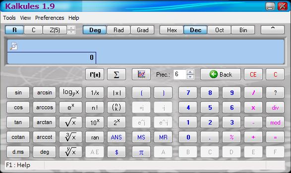 免費、好用的工程用計算機軟體推薦:Kalkules Portable 免安裝版下載