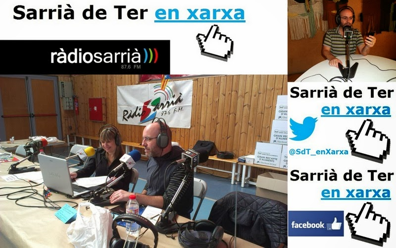 Sarrià de Ter en Xarxa, el meu espai de noves tecnologies a Ràdio Sarrià