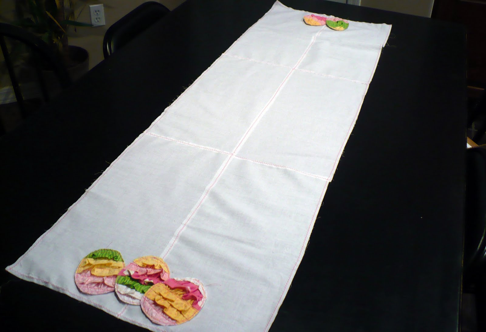 Easter Table Runner Pattern Photo Album - The Miracle of Easter