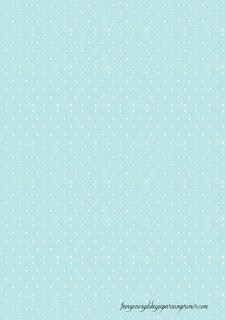Folios de color azul celeste Folios con topos para imprimir