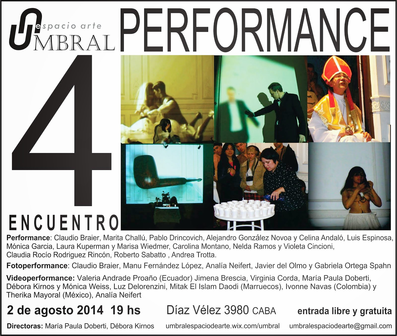 IV Encuentro de Performance