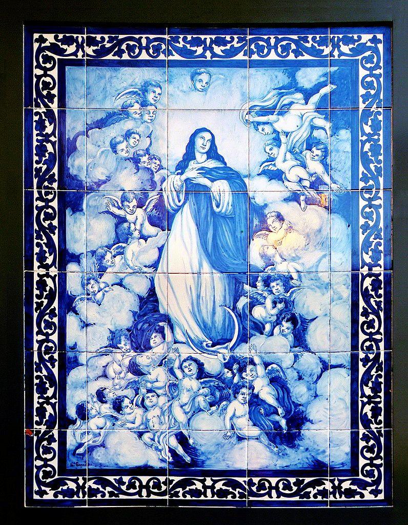 Azulejer a sevillana inmaculada concepci n triana - Copia de azulejos ...