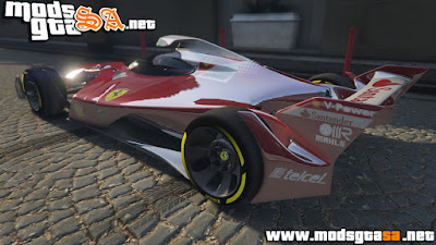 V - Ferrari Concept F1 para GTA V PC
