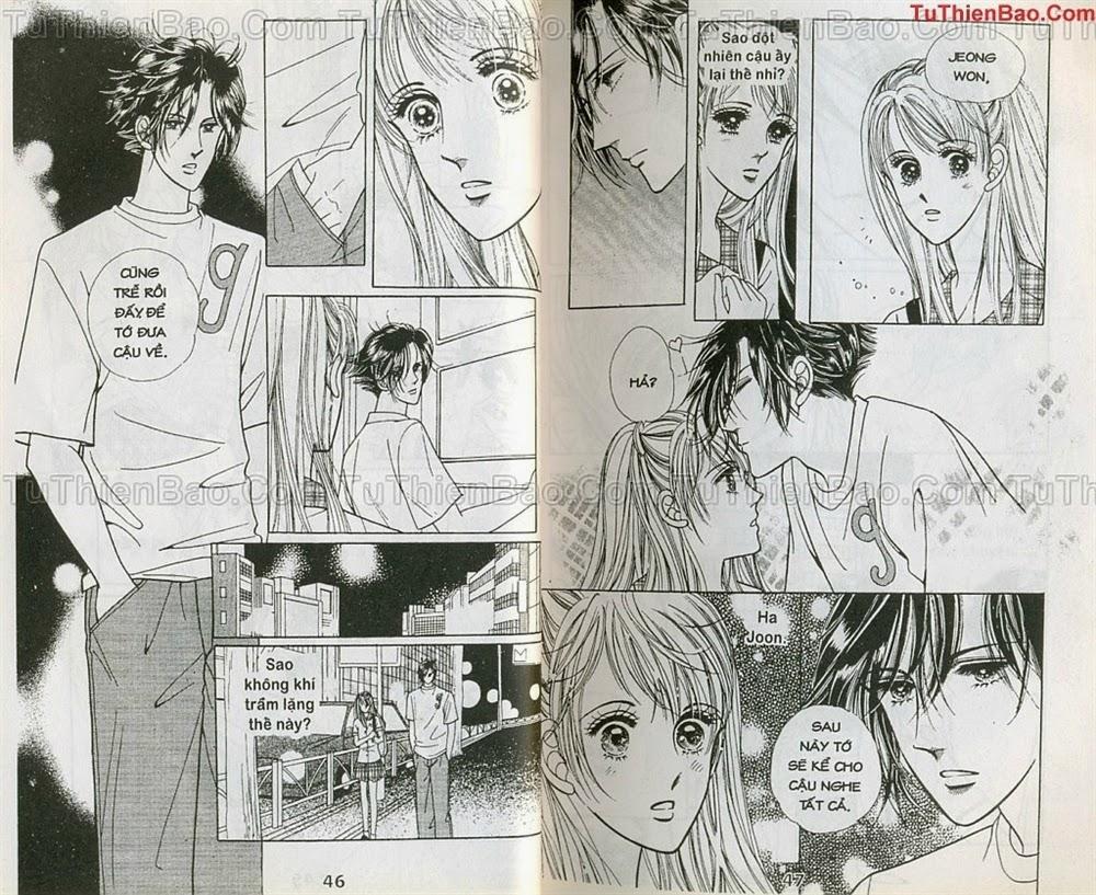 Nữ sinh chap 4 - Trang 24