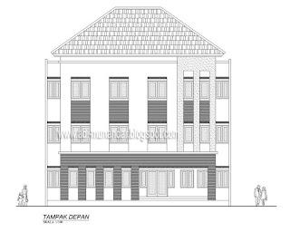 rumah minimalis tampak depan on ... Arsitektur & Interior: Rumah kost moderen dengan konsep fungsional