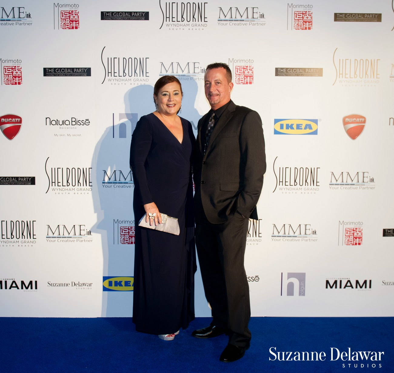 Shelborne Wyndham Grand South Beach Hosted 'Venetian Masquerade Gala'