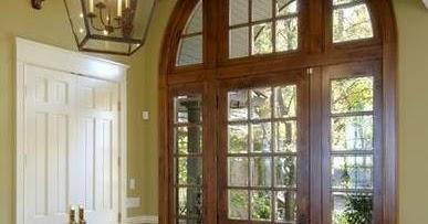Fotos y dise os de puertas puertas de madera para entrada - Puertas de madera para entrada principal ...