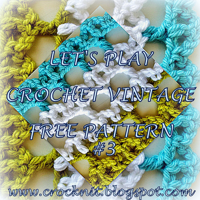 free crochet patterns vintage arches