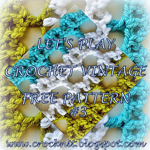 free crochet patterns vintage arches