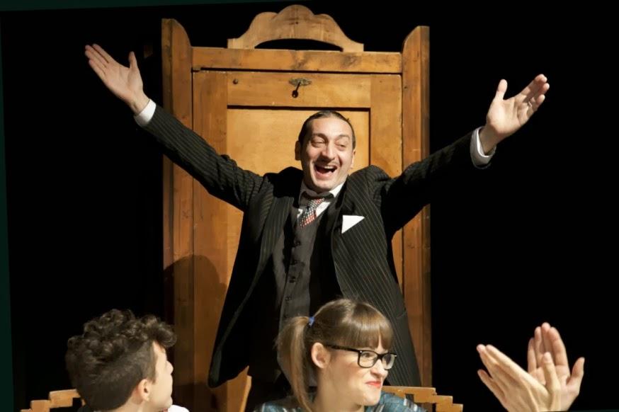 Teatro a Milano: Capodanno con Corrado d'Elia e Le nozze dei piccolo borghesi
