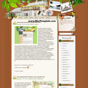 Welcome to Honduras blogger template
