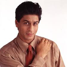 Shah Rukh Khan with shirt and tie