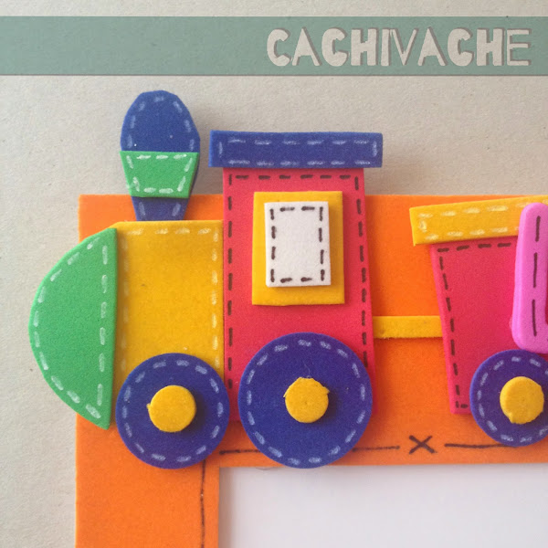 Imagenes de un tren en foami - Imagui