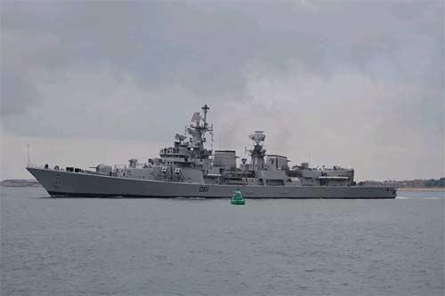 Kolkata Indian Navy Missile Destroyers