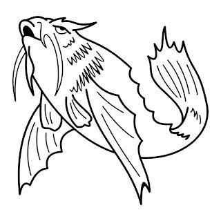 Fish Tattoo Stencils