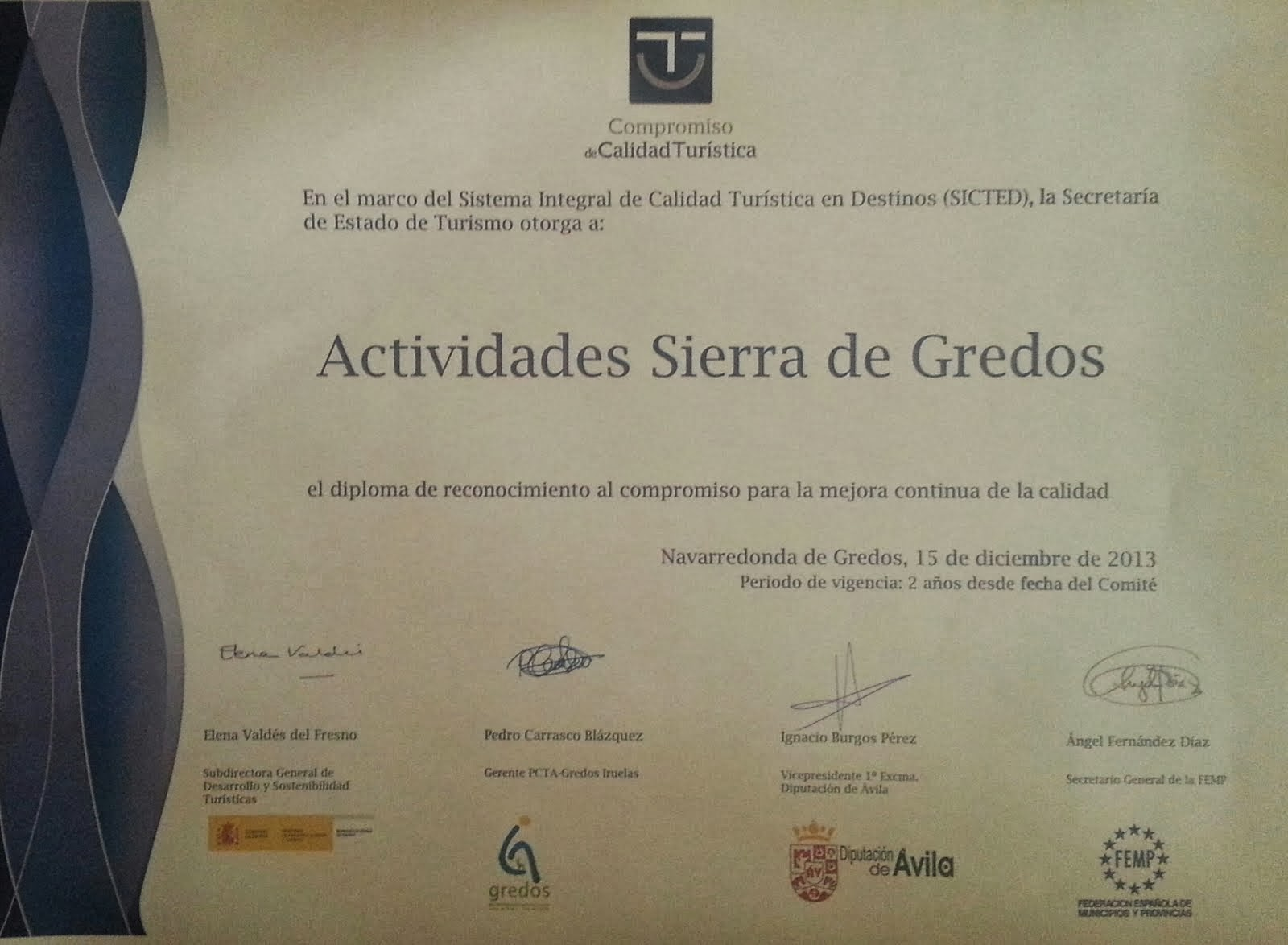 Actividades Sierra de Gredos