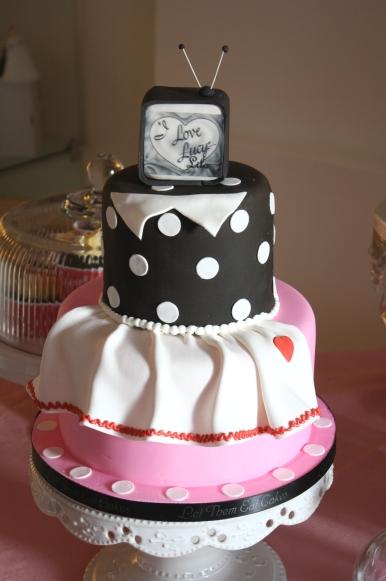 Lucille Ball Birthday Cake