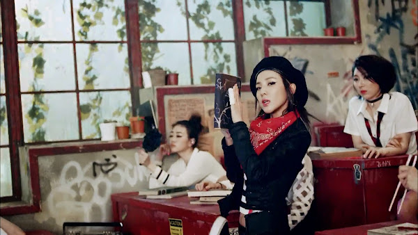2NE1 Dara Crush