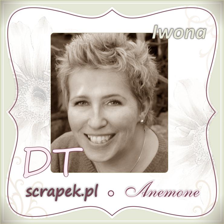 Inspiruję w scrapek.pl  Anemone