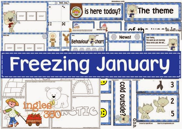 Freezing January