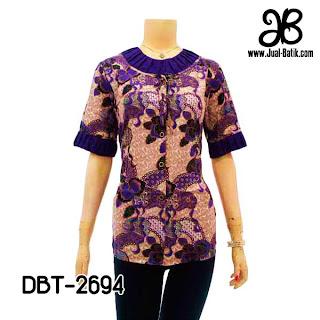 Model Blus Batik DBT-2694