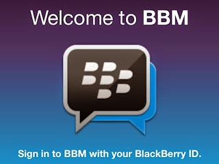 Cara Sign-in BBM Android dengan BB ID Lama