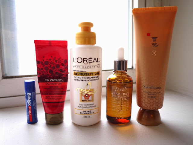 essential winter moisturizing products