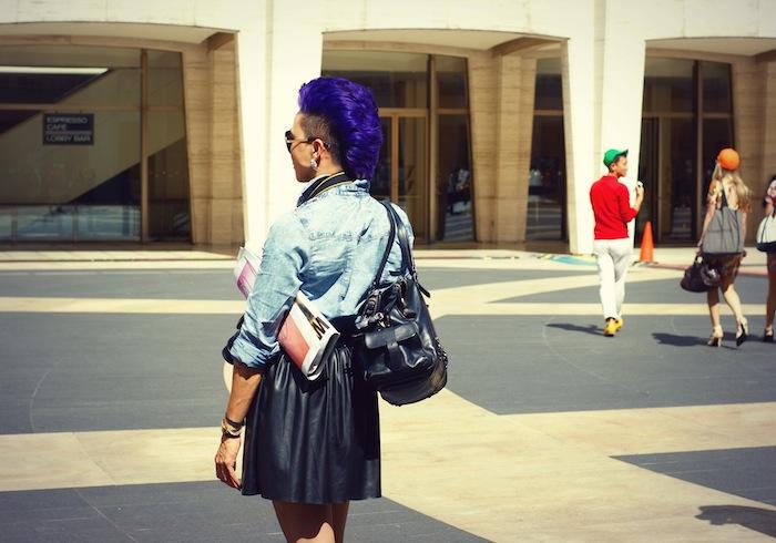 Fashion Week Street Style  London Tumbler