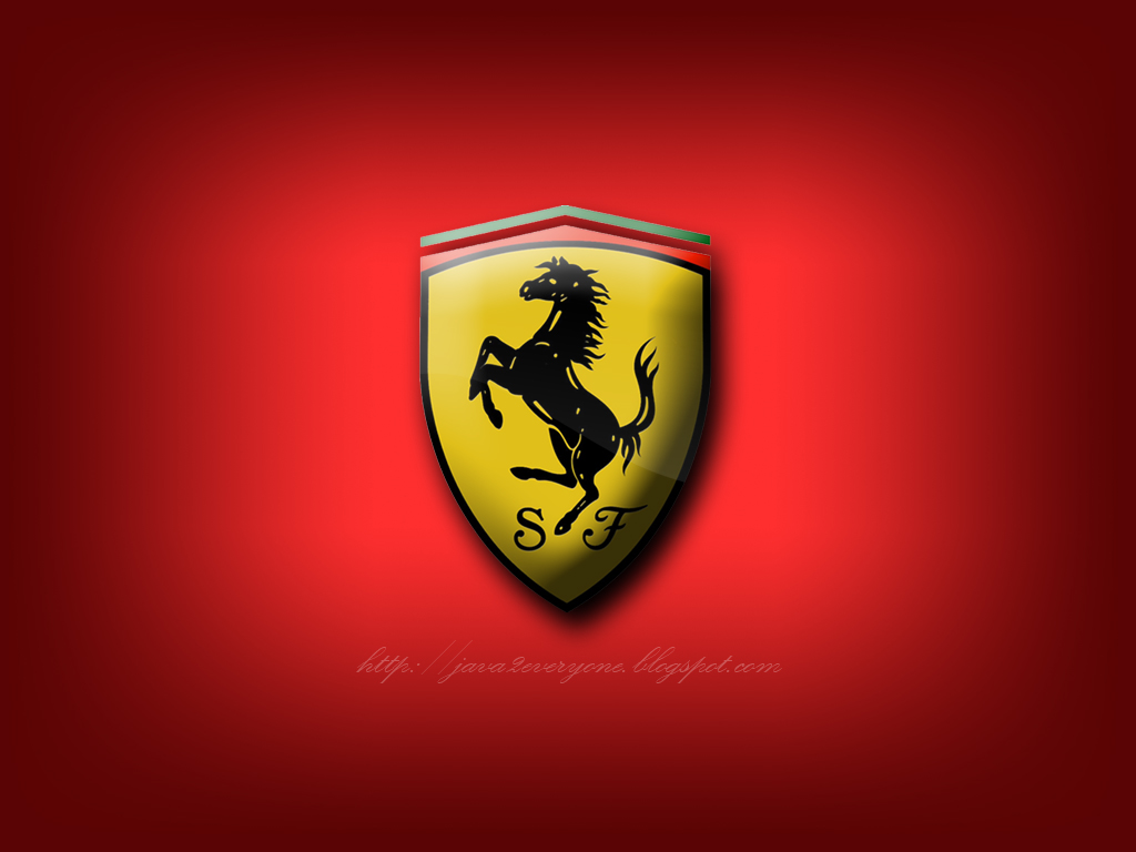 WALLPAPER DOWNLOAD: Ferrari Logo Wallpaper: wallpaper4blog.blogspot.com/2012/01/ferrari-logo-wallpaper.html