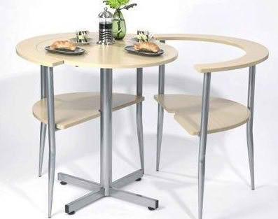 Vintage home peque as mesas para el desayuno for Mesas pequenas extensibles comedor