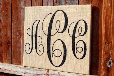 personalized burlap wedding sign