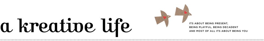A kreative life