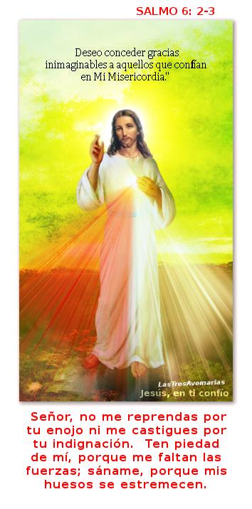 salmo de la biblia en foto de jesus