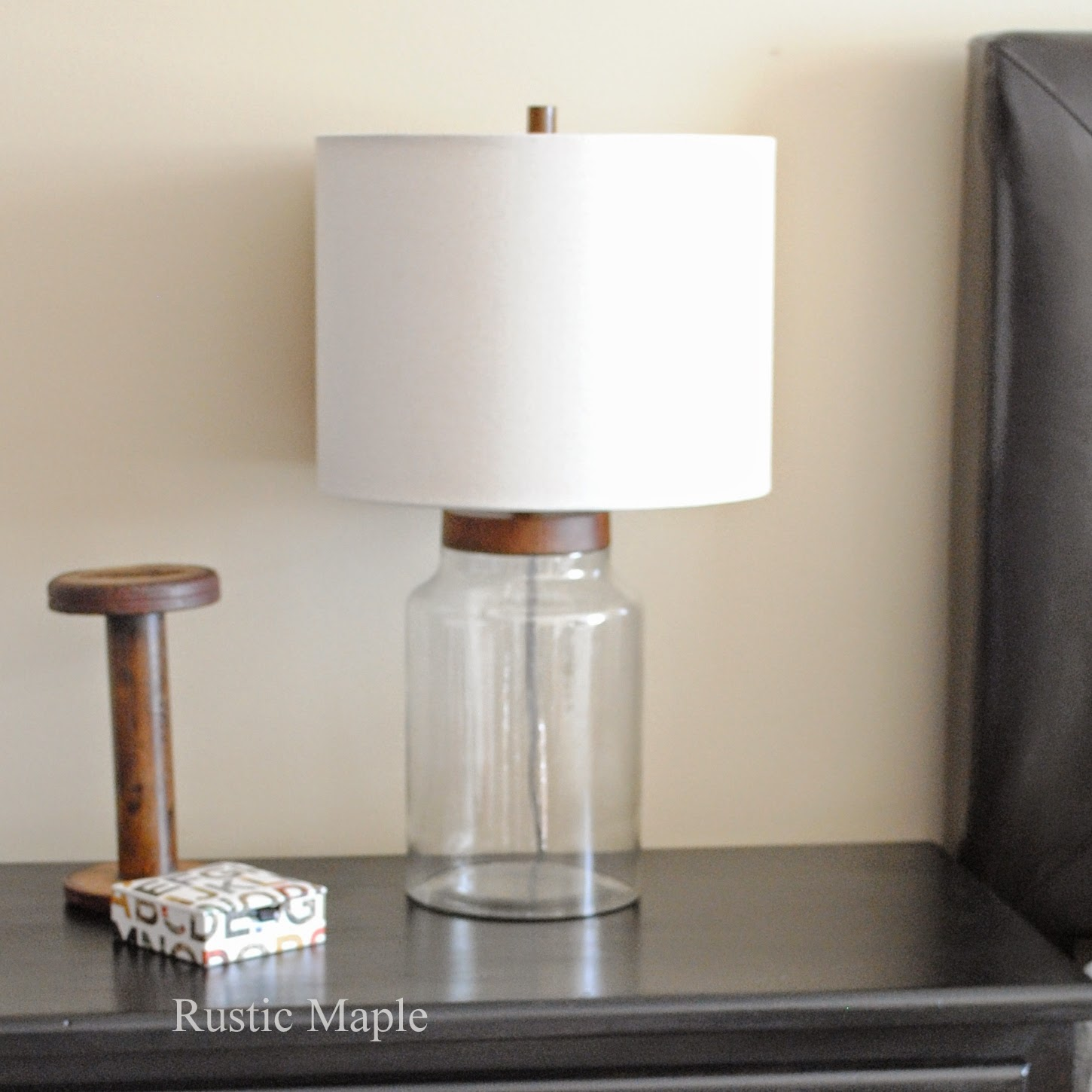 Rustic Maple: New Lamps for Our Master Bedroom