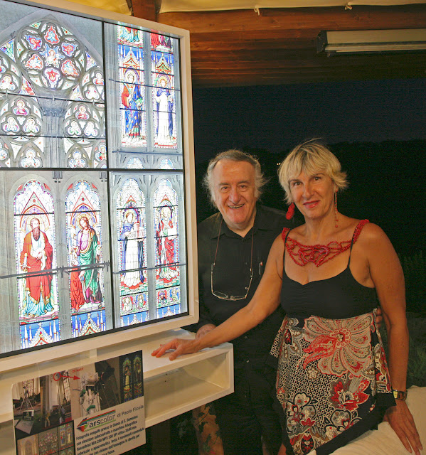 Paolo Ficola con Rita Castigli