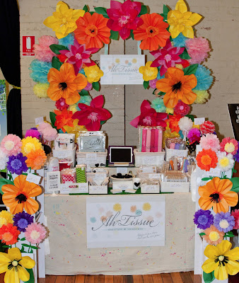 Flower Backdrop by Daneve @ Ah-Tissue