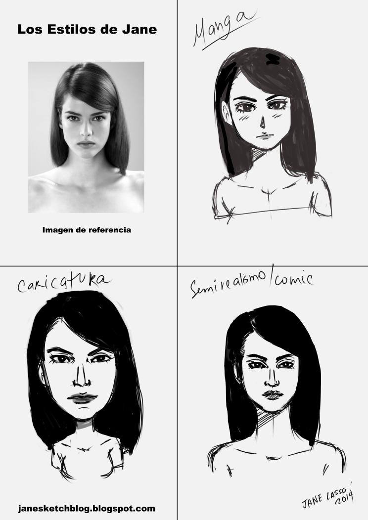 Mis estilos de dibujo