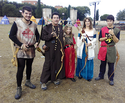 Club Tiro con Arco Aranjuez Medieval Alcalá de Henares