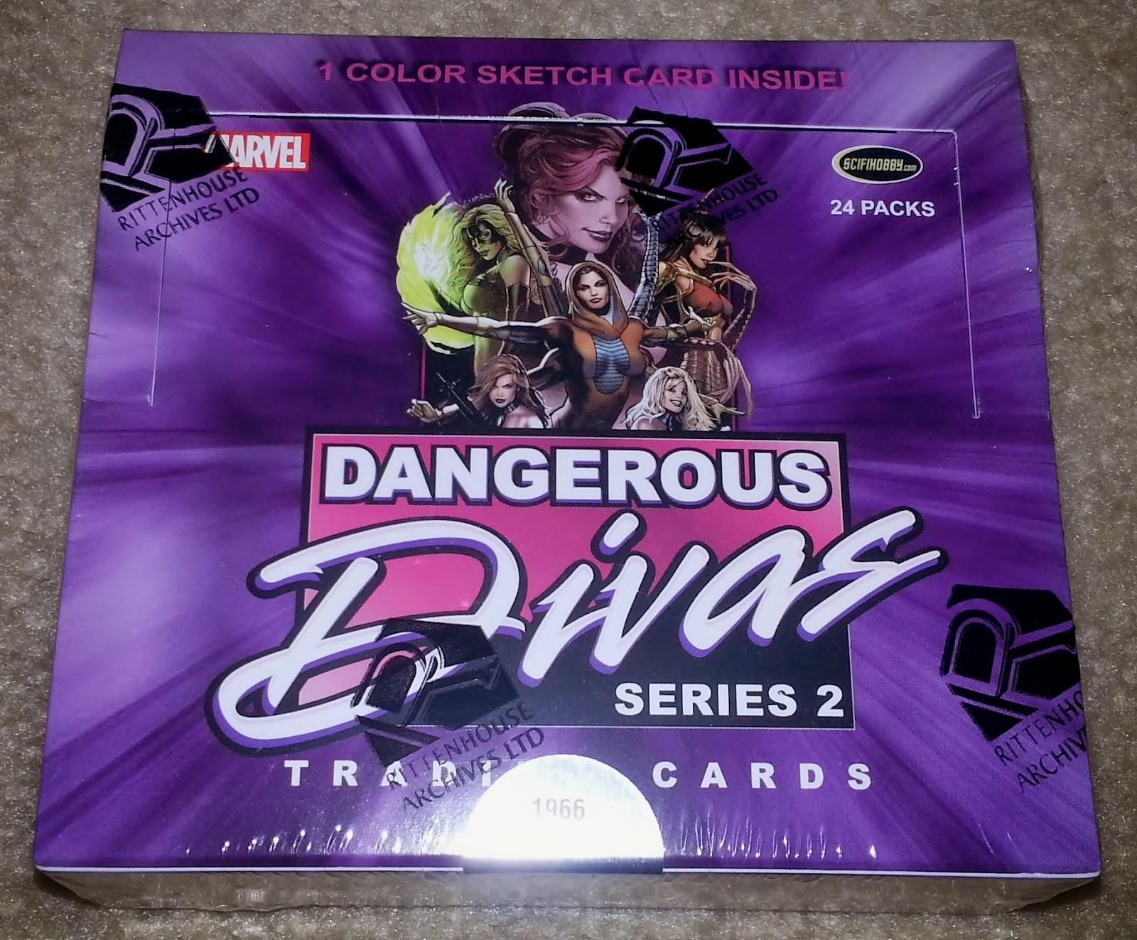 2013 Women of Marvel 2 II Purple Foil set with Promo Card by  Rittenhouse