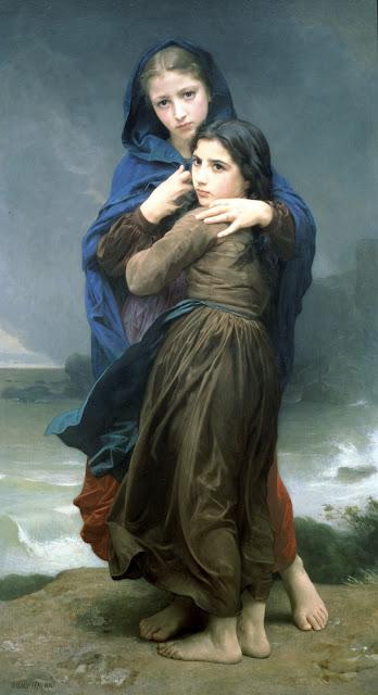William Adolphe Bouguereau,Bouguereau,genre painting