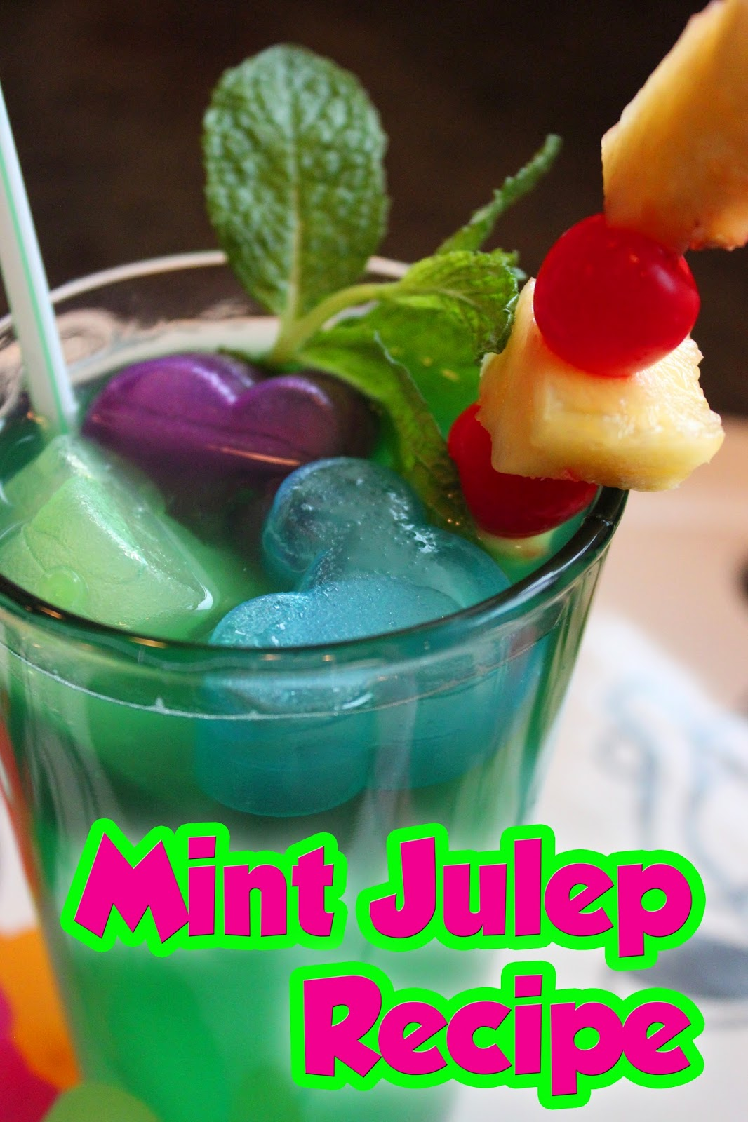 The Disney Diner: Disneyland's (non-alcoholic) Mint Julep ...