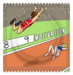 Motivação extra salto em comprimento