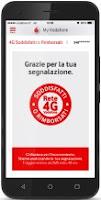 Vodafone We Care per ottenere un giorno di internet gratis