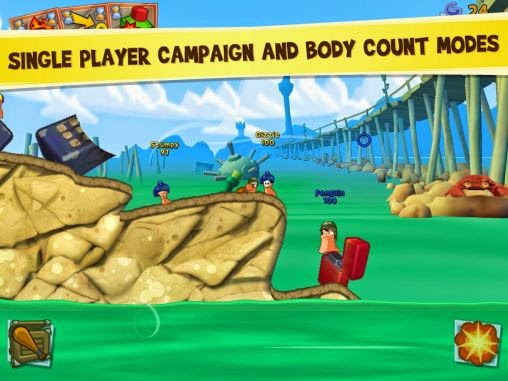 Free Download Worms 3 Android